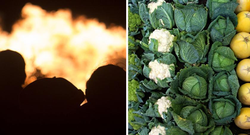 Pożary interwencje straży , Pożar sklepu warzywami ulicy Toruńskiej Włocławku - zdjęcie, fotografia
