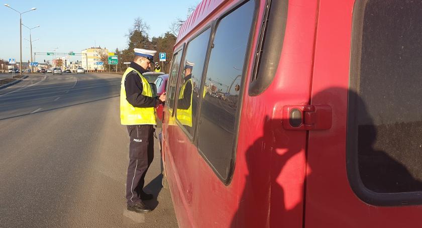 Wypadki drogowe, Tragedie włocławskich drogach akcja policji mandatów jeden dzień [FOTO] - zdjęcie, fotografia