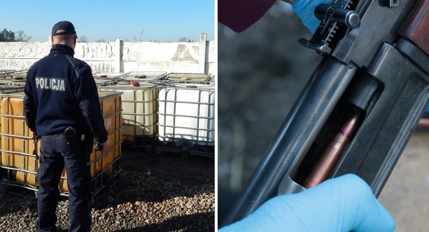 Sprawy kryminalne - kronika, latek więziony torturowany Karabiny amunicja tysiące litrów paliwa [FOTO] - zdjęcie, fotografia
