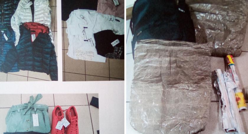 Sprawy kryminalne - kronika, Okradli sklep centrum Włocławka Mieli specjalne torby - zdjęcie, fotografia