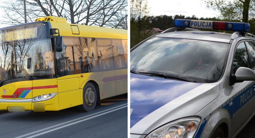 Wypadki drogowe, Kierowca Włocławku zahamował Pasażerka szpitalu policja szuka świadków - zdjęcie, fotografia