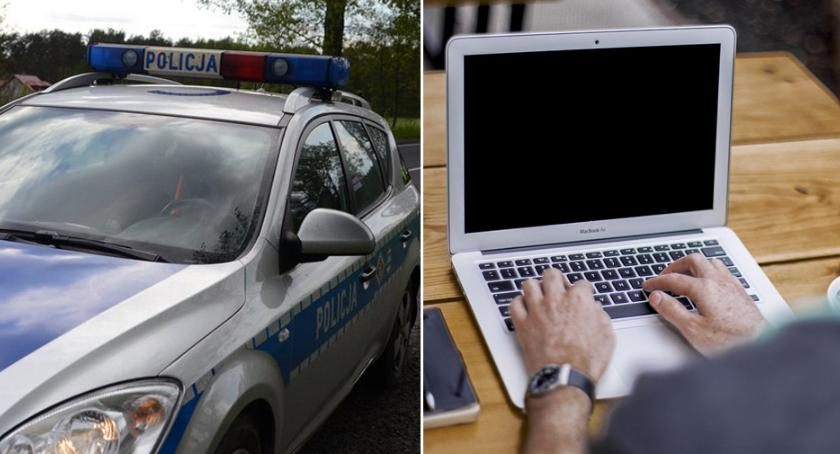 Sprawy kryminalne - kronika, Groził nawoływał zabójstwa znieważał policjantów portalu społecznościowym - zdjęcie, fotografia