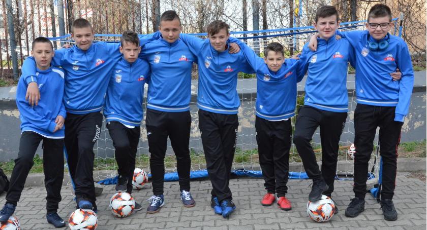 Piłka nożna, Drzwi Otwarte Zespole Szkół Akademickich Włocławku - zdjęcie, fotografia