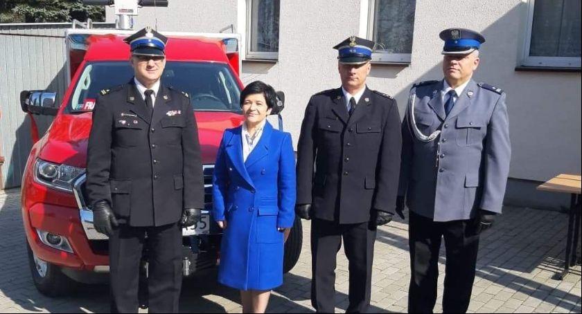 Pożary interwencje straży , Chełmica Cukrownia strażacki - zdjęcie, fotografia