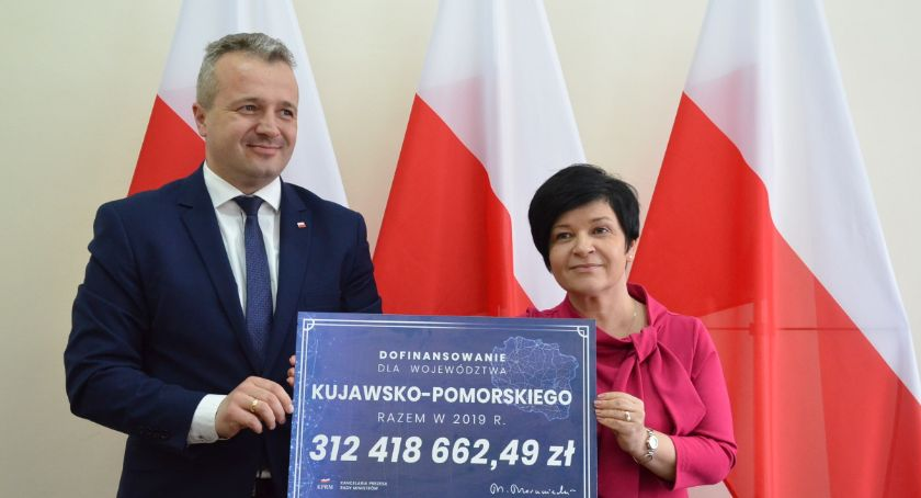 Inwestycje, milionów drogi województwie kujawsko pomorskim - zdjęcie, fotografia