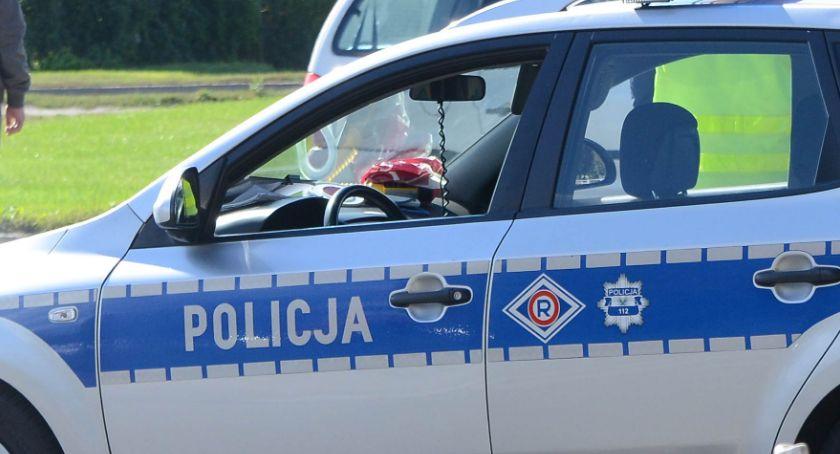 Wypadki drogowe, Tragiczny wypadek Gminie Dobre żyje letni kierowca - zdjęcie, fotografia