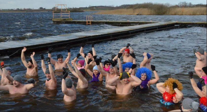 Pływanie, Kąpielisko jeziorem Borzymowskim wkrótce otwarte - zdjęcie, fotografia