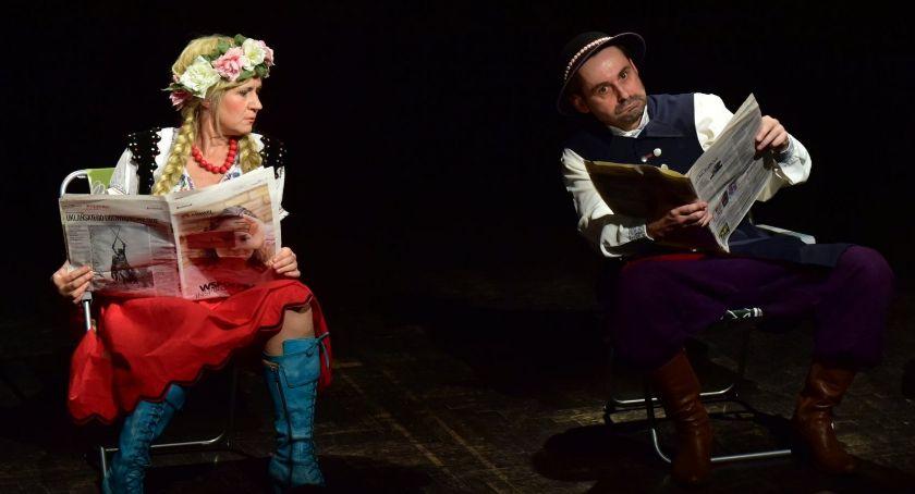 Spektakle, Włocławka ZROBIE ZECHCE Teatrze impresaryjnym - zdjęcie, fotografia