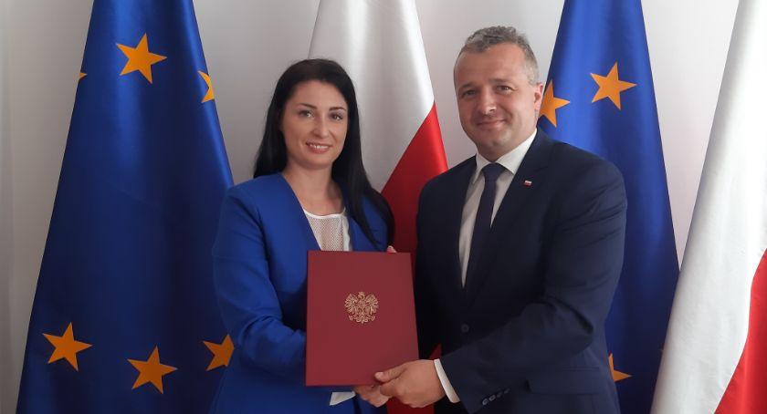 Polityka, Magdalena Nowak nowym Pełnomocnikiem Wojewody zrównoważonego rozwoju - zdjęcie, fotografia