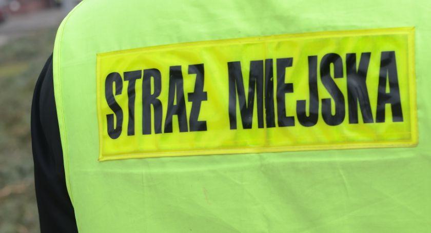 Straż Miejska, Strażnika Miejskiego Włocławku Funkcjonariusza zamroczyło - zdjęcie, fotografia