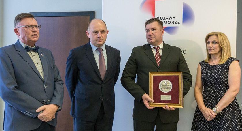 Sejmik, Medal Unitas Durat bohatera Brześcia Kujawskiego - zdjęcie, fotografia