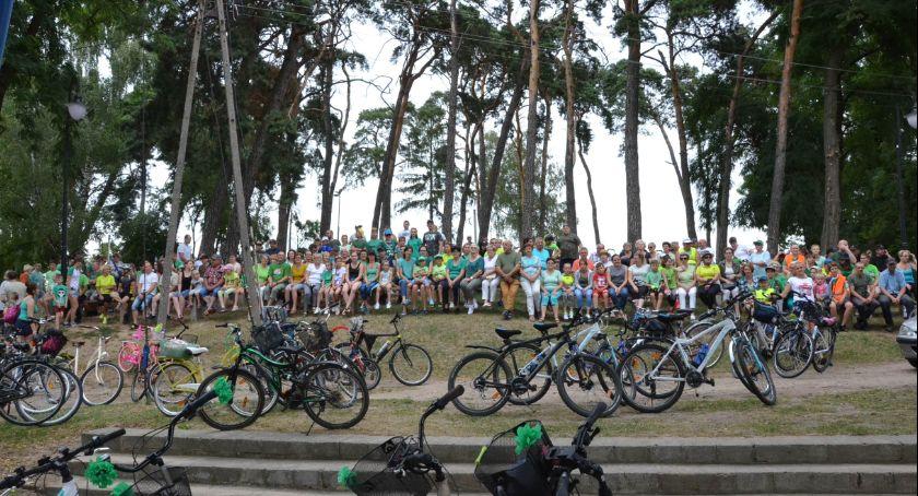 Rowery kolarstwo, Rowerowy Lubieniu Kujawskim [ZDJĘCIA] - zdjęcie, fotografia