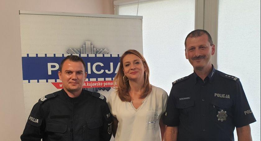 Policja - komunikaty policyjne, Bohaterska postawa Kulinie nagrodzona - zdjęcie, fotografia