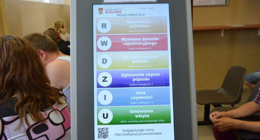 Komunikacja, Limit Wydziale Komunikacji Włocławku Petenci odprawiani kwitkiem - zdjęcie, fotografia