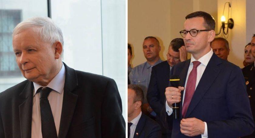 Polityka, Jarosław Kaczyński Mateusz Morawiecki przyjadą Włocławka - zdjęcie, fotografia