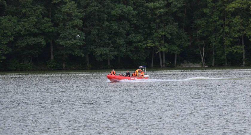 Pożary interwencje straży , Tragedia powiecie włocławskim jeziorze Chodczu utonął młody mężczyzna - zdjęcie, fotografia