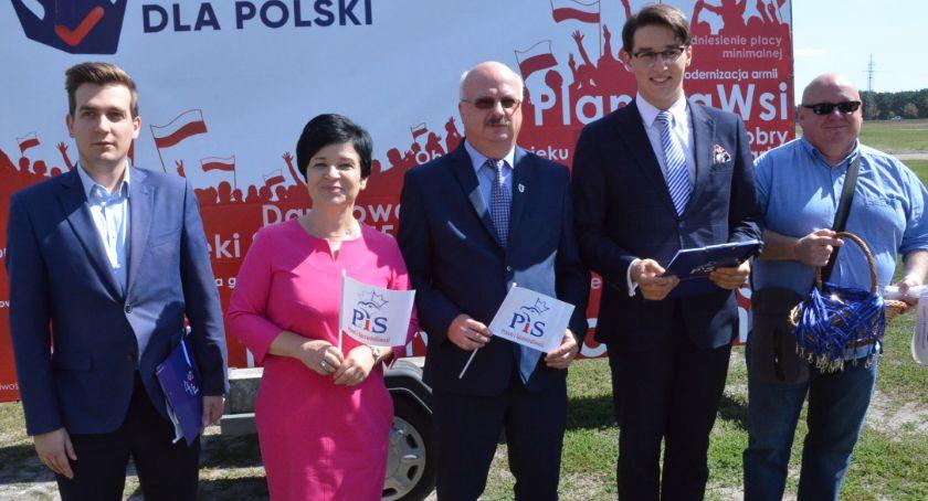 Polityka, Wybory Włocławku Akcja zbierania podpisów przez - zdjęcie, fotografia