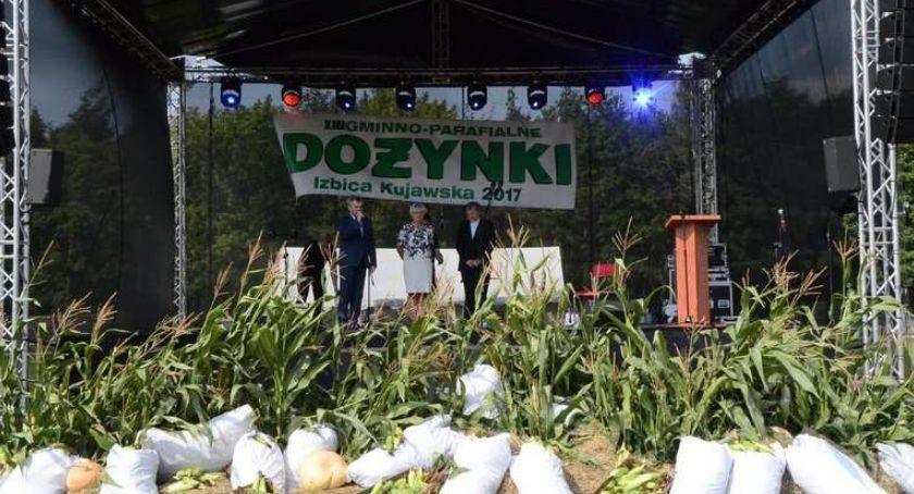 Imprezy, Dożynki Izbica Kujawska Gwiazdą Wojciech Gąsowski Jorrgus - zdjęcie, fotografia