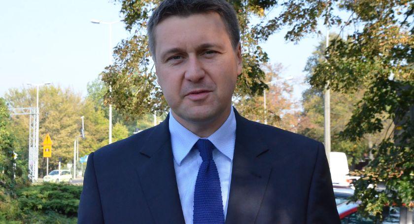 Polityka, Łukasz Zbonikowski poparciem Wspólnoty Samorządowej - zdjęcie, fotografia