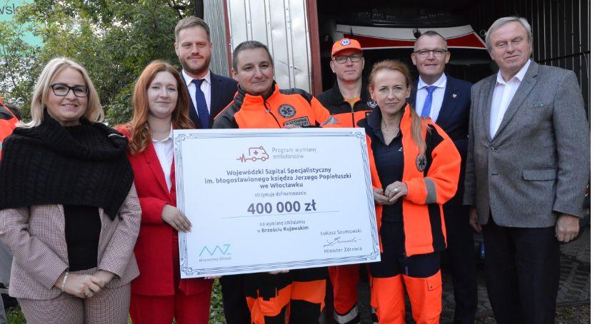 Inwestycje, Brześć Kujawski otrzymał tysięcy złotych Wiemy - zdjęcie, fotografia