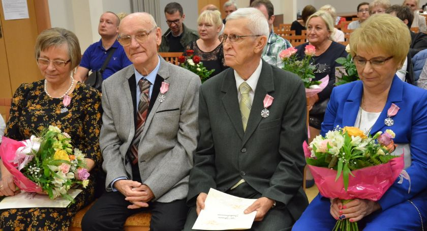 Ludzie_, Jubileusze małżeńskie włocławskim Ratuszu - zdjęcie, fotografia