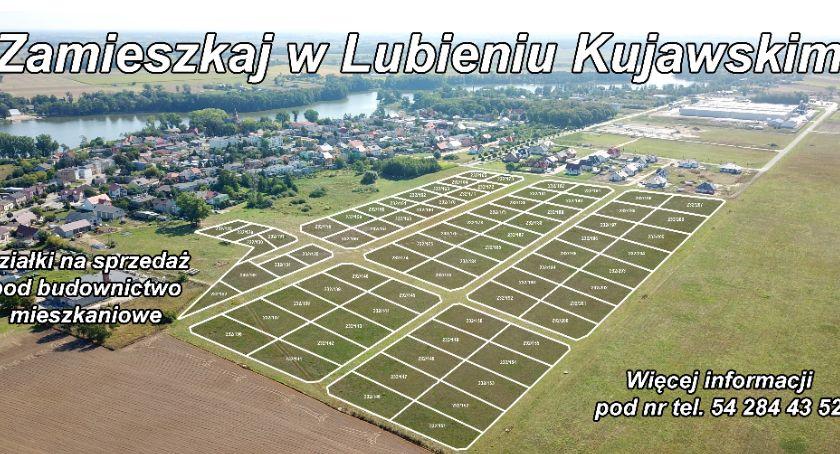 Nieruchomości, Atrakcyjne działki Gminie Lubień Kujawski sprzedaż - zdjęcie, fotografia