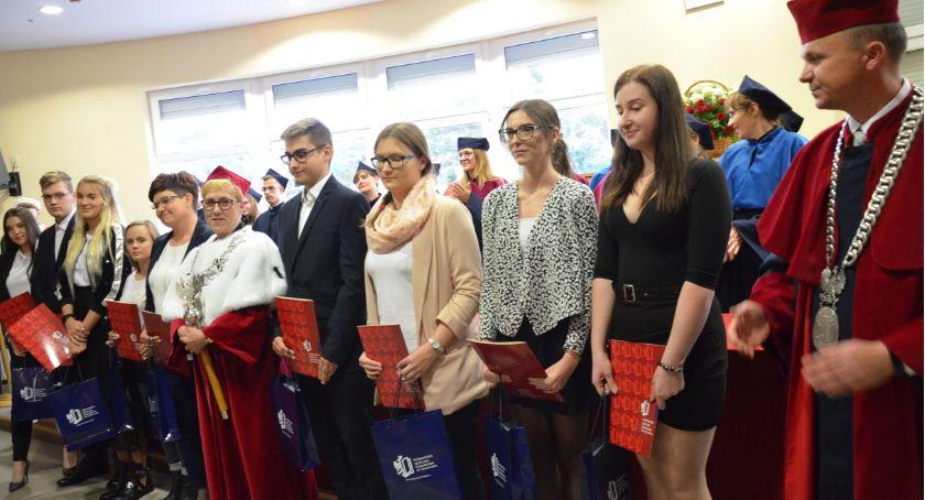 Szkoły wyższe, Inauguracja akademickiego 2019/2020 Państwowej Uczelni Zawodowej Włocławku - zdjęcie, fotografia