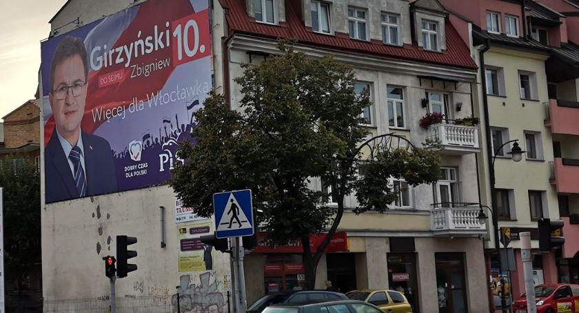 Polityka, Wybory parlamentarne Włocławek Powiat Włocławski Zobacz wygląda walka wyborcza - zdjęcie, fotografia