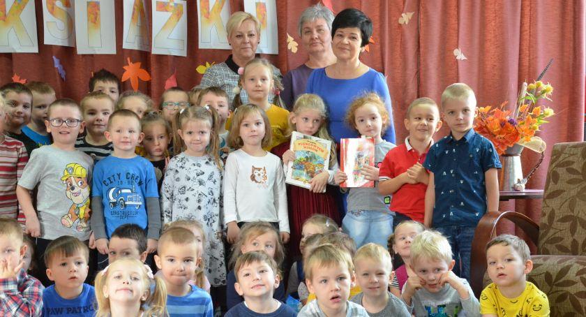 Polecamy, Przedszkole Bajka gościło poseł Joannę Borowiak - zdjęcie, fotografia