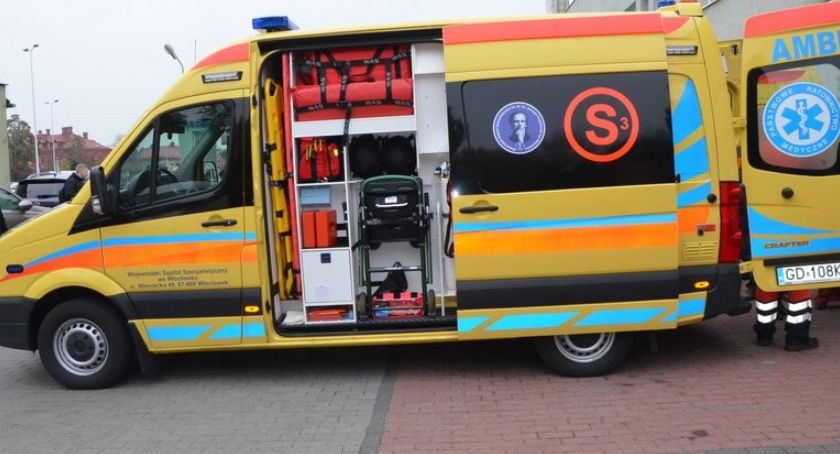 Policja - komunikaty policyjne, Zaatakował ratownika medycznego Ostrowskiej Włocławku - zdjęcie, fotografia