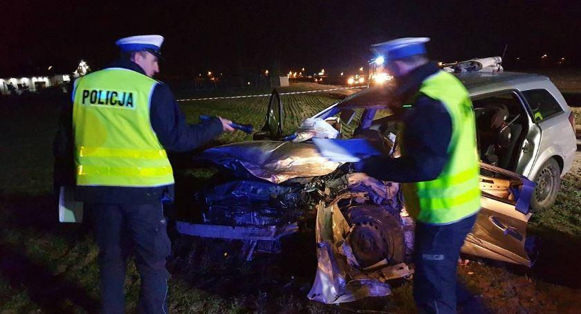 Wypadki drogowe, Tragiczny wypadek Choceniem Prokuratura przesłała oskarżenia - zdjęcie, fotografia