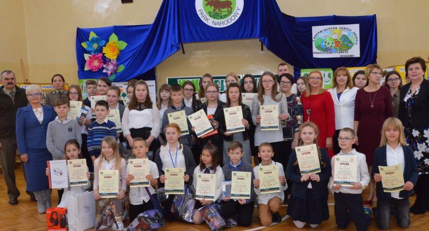 Szkoły podstawowe, Rejonowy Konkurs Ekologiczny Smólnik - zdjęcie, fotografia