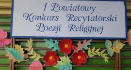 I Powiatowy Konkurs Poezji Religijnej w SP 1 w Brześciu Kujawskim
