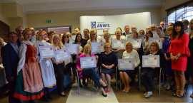 Certyfikaty dla beneficjentów konkursu grantowego we Włocławku