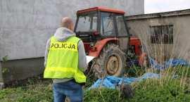 Kradzież ciągnika rolniczego w regionie. Policjanci dotarli do sprawcy po ...