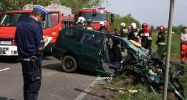 Tragiczny wypadek w regionie. 4 osoby zginęły na miejscu [FOTO]
