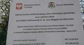 Otwarcie boiska przy SP im. ks. Jana Długosza we Włocławku