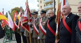 Uroczyste obchody 74 rocznicy bitwy pod Lenino we Włocławku