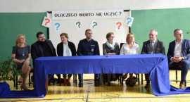 W Brześciu Kujawskim uczcili patrona szkoły [ZDJĘCIA]