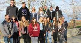 Zagraniczne praktyki szansą dla uczniów. Uczniowie Zespołu Szkół w Lubrańcu  w Grecji [ZDJĘCIA]