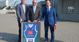 Klub Koszykówki Włocławek S.A. podziękował Prezydentowi Włocławka