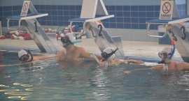 WOŚP 2016 Włocławek: Gra w hokeja podwodnego