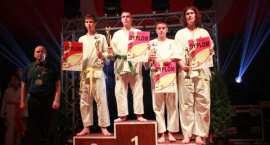 Włocławski karateka na podium
