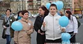 Obchody Światowego Dnia Świadomości Autyzmu we Włocławku cz. 2 - 08.04.2015