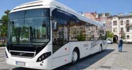 Testy autobusu hybrydowego Volvo 7900 Hybrid  we Włocławku