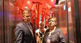 Podopieczni  Zespołu Szkół nr 3 we Włocławku doczekali się windy