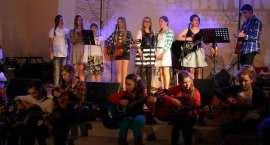 Zaśpiewali i zagrali dla WOŚP w Lubieniu Kujawskim. Mieszkańcy nie zawiedli [VIDEO]