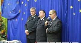Strażacy powiatu włocławskiego podzielili się opłatkiem [ZDJĘCIA]