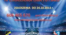 Ostatnie wolne miejsca na IV Edycję Choceńskiej Ligi Futsalu.