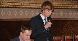 Przewodniczący MRM we Włocławku Kacper Marciniak podsumował kończącą się kadencję